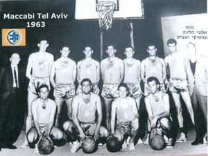 Raanan Katz when playing for Maccabi